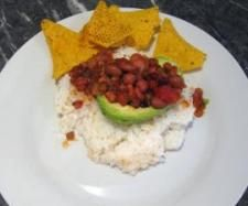 Recipe Low Fat Vegan Clone of Vegetarian Chilli in Avocado by VeganAnni - Recipe of category Main dishes - vegetarian