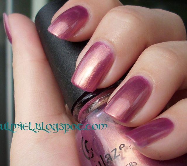 China Glaze-Awakening...love this color!