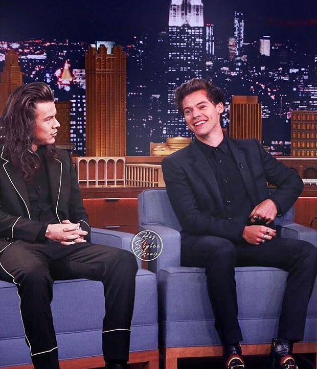 Harry long hair vs. Harry short hair