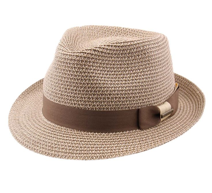 Stetson Women's Trilby Toyo Trilby Hat Size L Brown-67