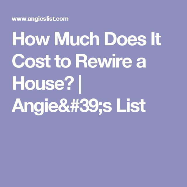 How Much Does It Cost To Rewire A Chandelier How Much Does It Cost To Rewire A 3 Bedroom House