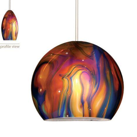 Pendant Lighting | Large Pendant Lights with Unusual Shape, new by WAC Lighting