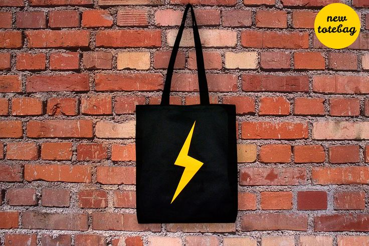 New totebags are coming soon!!!!  #cotton #totebag #yellow #lightning #relámpago #rayo #fulmine #black #shopping #bag