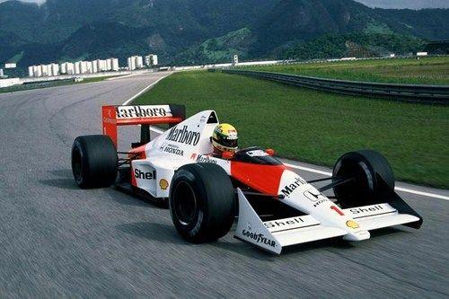 Ayrton Senna  McLaren - Honda 1989  #senna #f1 #mclaren
