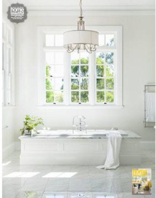 My mum39s beautiful bathroom as featured in the australian for Beautiful bathrooms magazine