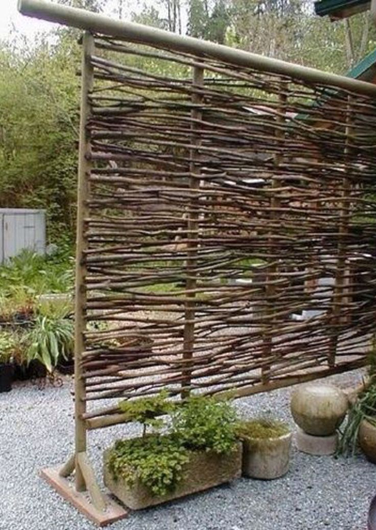 Make Your Repurposed Wine Bottle Fence 10