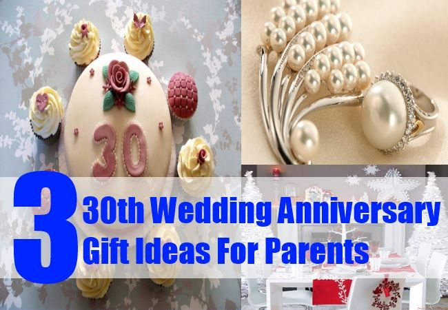 Gift For 30 Wedding Anniversary: 25+ Best Ideas About Pearl Wedding Anniversary Gifts On