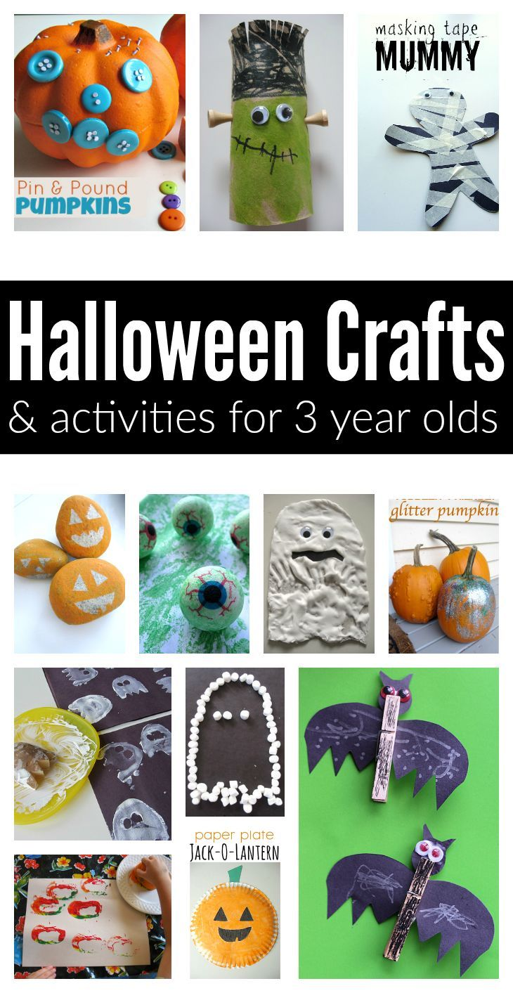 Easy Halloween Crafts And Activities For 3 Year Olds