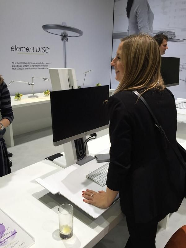 Having loads of fun with QuickStand at Orgatec 2014. Kudos to The Furniture Practice for the photo. October 23, 2014