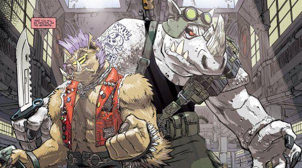 Comic Rack – Teenage Mutant Ninja Turtles – Bebop & Rocksteady — dadsbigplan