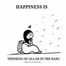 Make dua when it rains! ☔️ #Dua #Rain #Islam