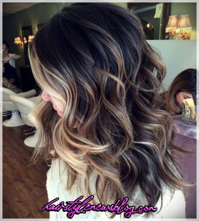 Balayage Wicks 2019 In Brunettes Hair Lengths Brown Hair Balayage Ombre Hair Balayage Wi In 2020 Brunette Hair Color Ombre Hair Color For Brunettes Balayage Hair