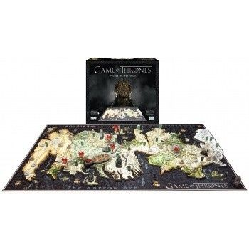 4D Cityscape Time Puzzle - A Game of Thrones