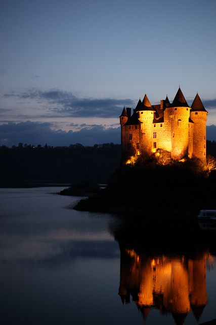 Chateau de Val, Cantal in Auvergne, France