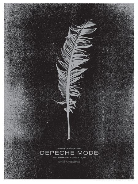 Depeche Mode Tour Art - The Small Stakes - 2009