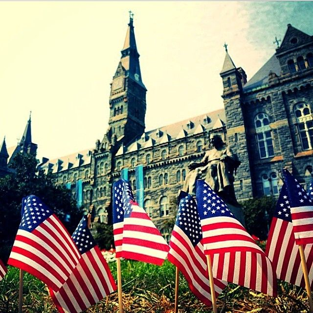 Happy Memorial Day from USA Today College and Georgetown University! Thanks to @freddyfishh for the photo!