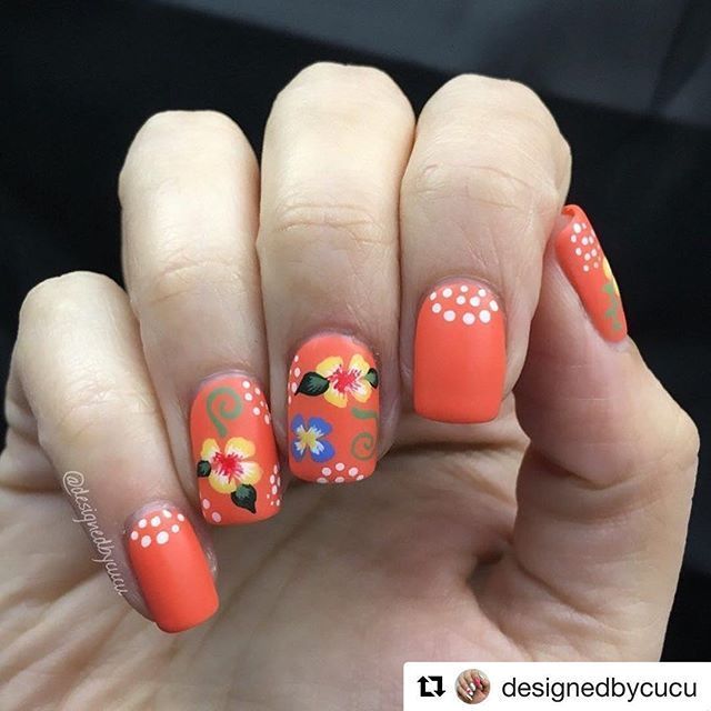 Best 25 mexican nails ideas on pinterest skull nails art of with home decor inspired nails for i went with a colorful floral design that you often find in traditional mexican homes especially in kitchenware prinsesfo Gallery
