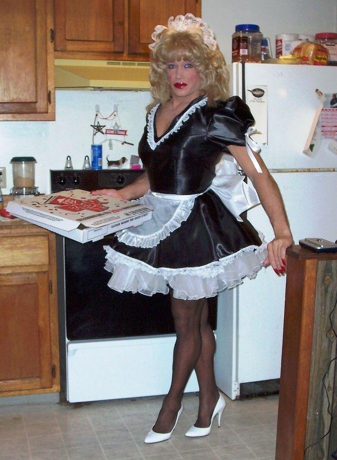 Submissive men maids and transvestites