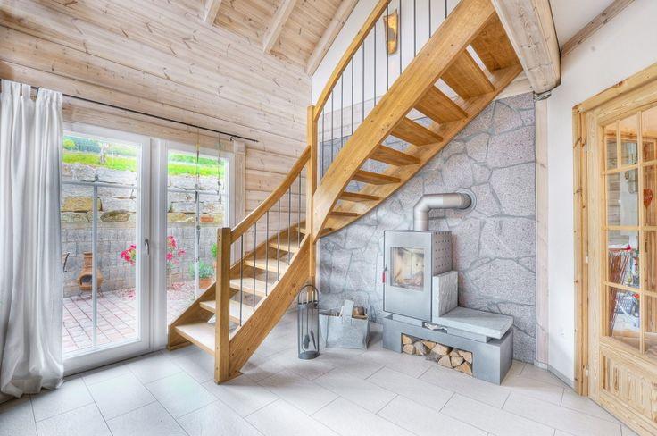 Honka Einfamilienhaus Modell Peak Treppenhaus