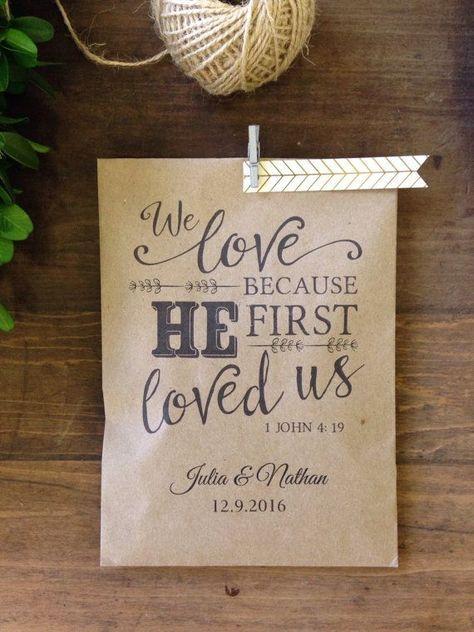 Christian Wedding Favor Utensil Or Bread Favor By Detailsondemand