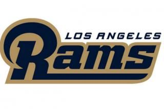New Los Angeles Rams logo