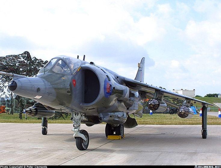UK - Air Force More: Hawker Siddeley Harrier GR3