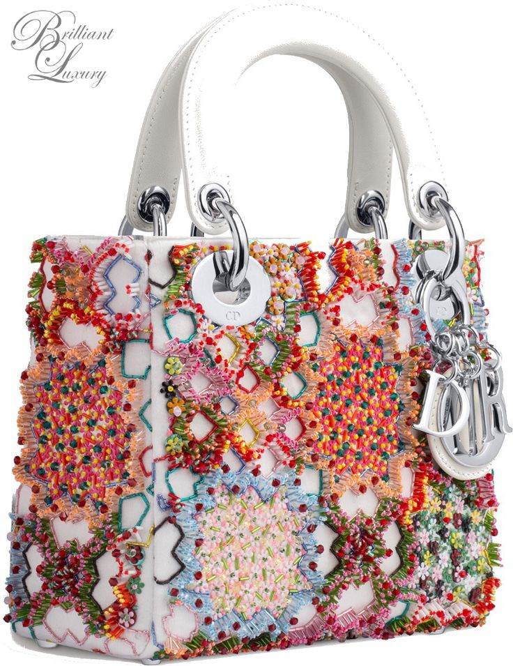 ✿♕ѕαвяιиα✿♕Brilliant Luxury * Dior 'Lady Bag' Fall 2015-16