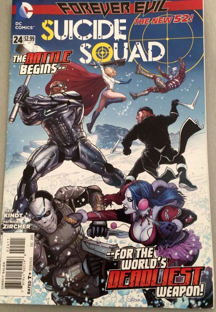 DC New 52- Suicide Squad - Issue # 24 - 1st Print