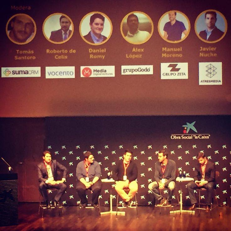 """Empieza el debate sobre """"Media for Equity"""" #smartmoney2016 #caixaforum #Madrid"""