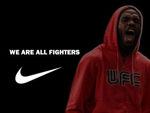 "Jon ""Bones"" Jones #UFC #Nike #Motivation"