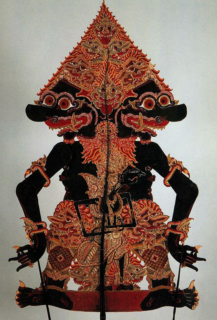 BRAHALA in Wayang Kulit (leather puppet)