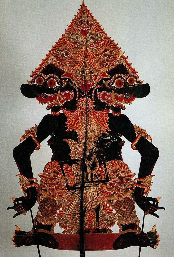 BRAHALA in Wayang Kulit (leather puppet)