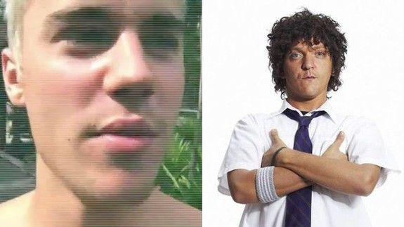 Justin Bieber does a mean impression of Jonah from 'Summer Heights High'