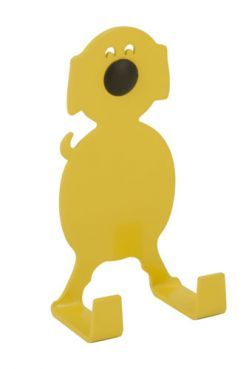 FARMHOUSE dog er en smuk okker hund med store ører og lille hale. FARMHOUSE dog is a cute ocher-colored animal with big ears and small tail. #morfo #morfodesign #morfodk #danishdesign #designforkids #interior #hooks