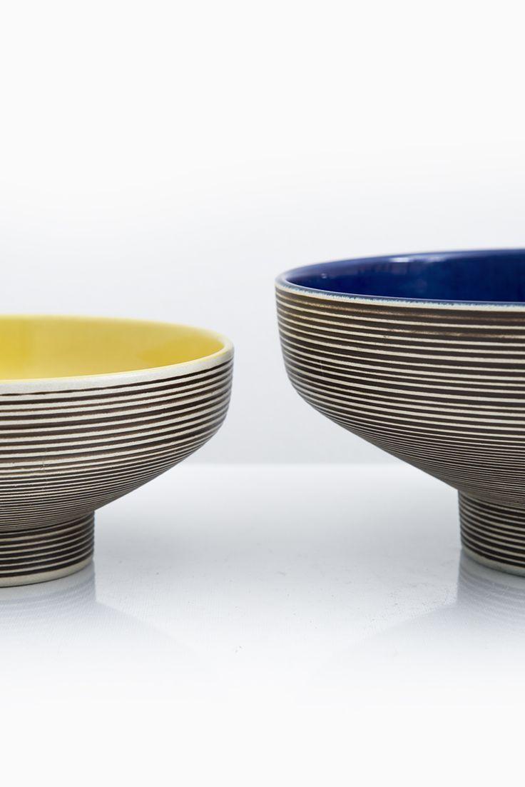 Carl-Harry Stålhane ceramic bowl Entré by Rörstrand at Studio Schalling #ceramic #midcentury