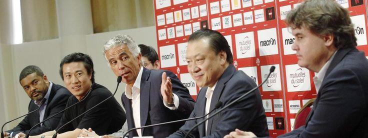 Le président du club de football de Nice présente en juin 2016quatre nouveaux investisseurs dont deux actionnaires chinois