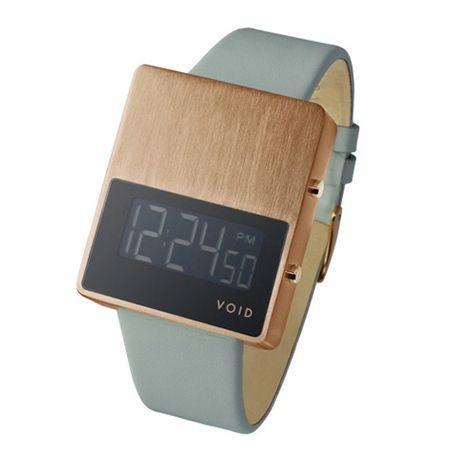 clock, copper, wood. David Ericsson of VOID watches