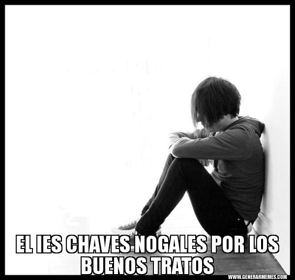 Campaña publicitaria en las redes sociales del IES Chaves Nogales con memes (mensajes cortos con imágenes) para promocionar los buenos modales y tratos entre toda la comunidad educativa con motivo del 30 de Enero (Día Escolar de la NO Violencia y la Paz).