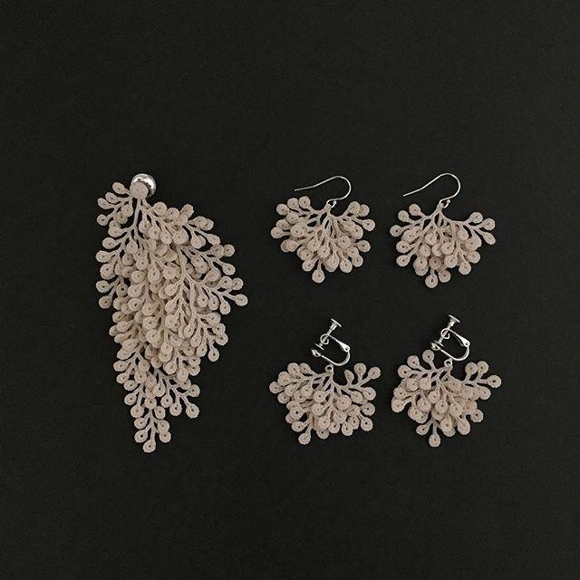 fujitamiho crochet jewelry set