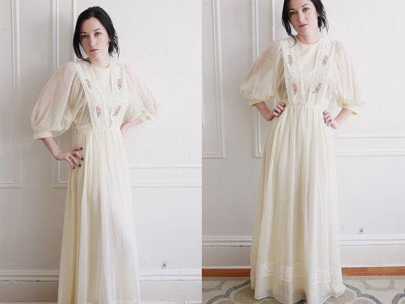 1000  ideas about 1970s Wedding on Pinterest  1970s wedding dress ...