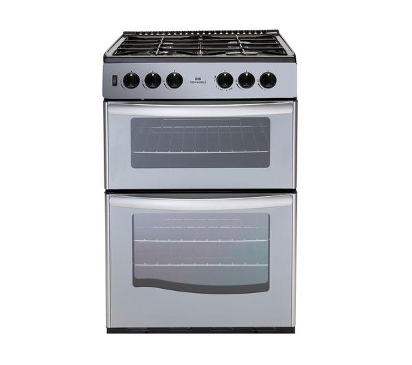 G55TT Gas Cooker - Silver