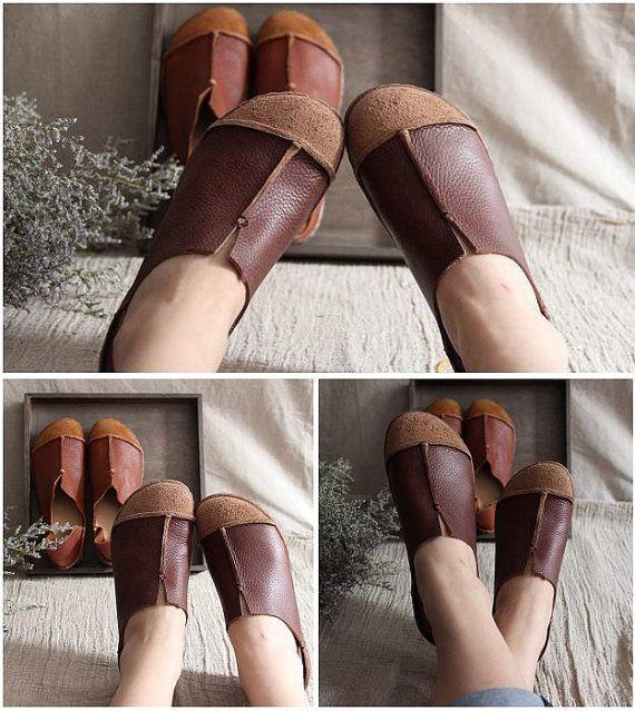 He encontrado este interesante anuncio de Etsy en https://www.etsy.com/es/listing/187225977/marron-de-zapatos-hechos-a-mano-zapatos
