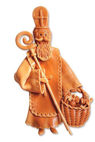 Vizovické těsto na svícen i betlém - Dekorace