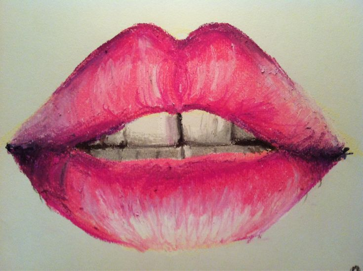 Lips- the blending of the oils is so harsh but gives the texture of the lips