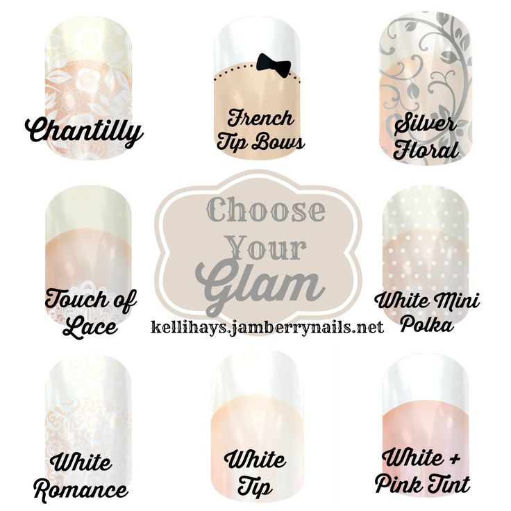 Need elegant nails for a wedding, a prom, or just an understated look? Jamberry is your answer for long-lasting, affordable manicures!