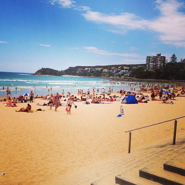 Manly Beach in Manly, NSW