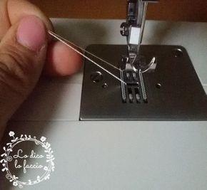 cucire con filo elastico