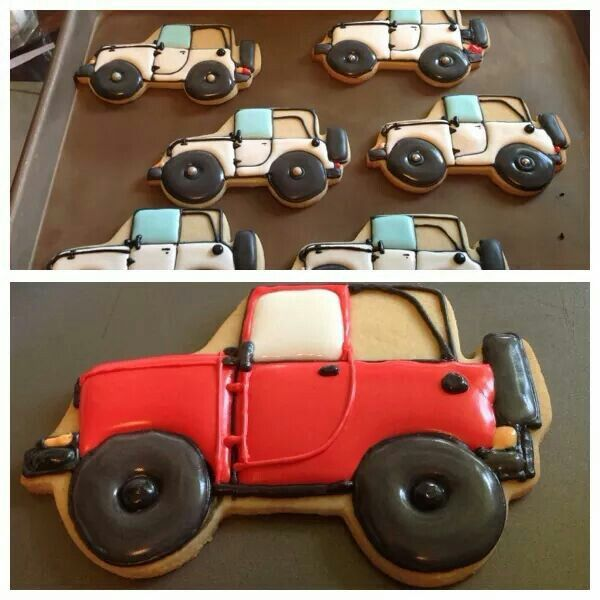 824 Best Vehicle Ideas Images On Pinterest: 175 Best Car Cookies (Trucks, Motorcycles, Bicycles