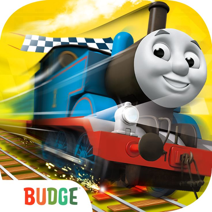 Thomas & Friends: Go Go Thomas Kids App  In this fun speed game, kids race against other engines or select two trains to race against a friend! Use speed boosters to race even faster, and complete the trophy for a special delivery. Full steam ahead!