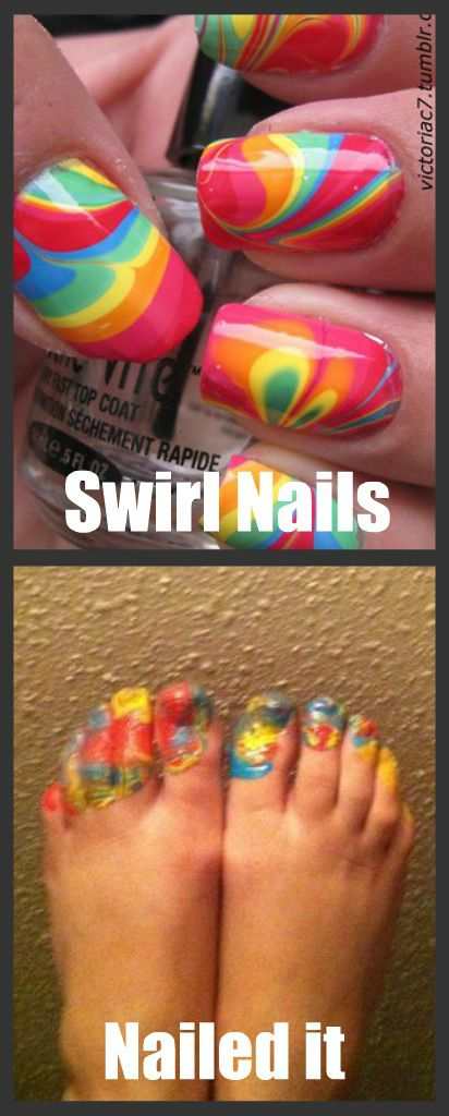 WHYYY would you try it on your toes?! that's stupid with two o's kind of stoopid.